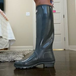 Tall Hunter Glossy Rainboots